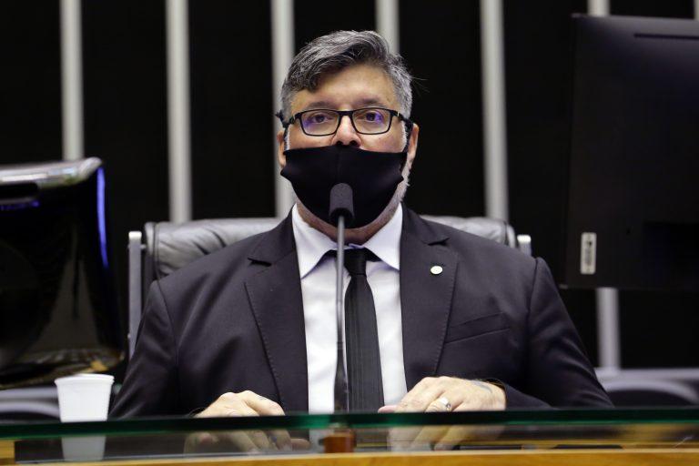 O deputado Alexandre Frota em Plenário