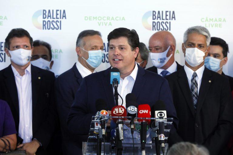 Presidente da Câmara, Rodrigo Maia anuncia Baleia Rossi (MDB - SP) como candidato a sucessão