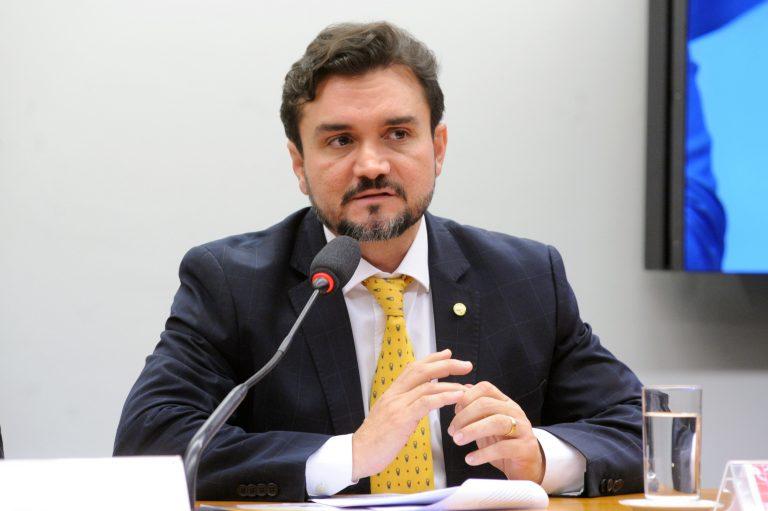 Deputado Celso Sabino fala em reunião de comissão