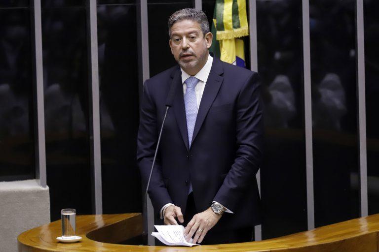 Sessão da Câmara para eleger nova Mesa Diretora. Candidato à presidência da Câmara, dep. Arthur Lira (PP - AL)