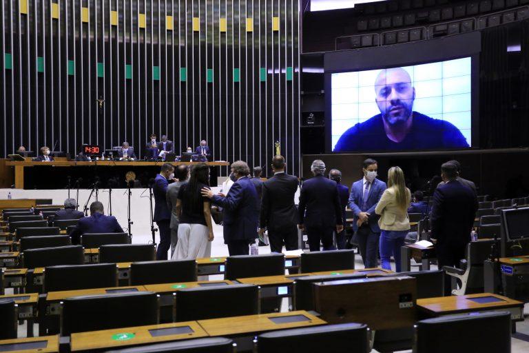 Sessão para a votação de propostas legislativas. Dep. Daniel Silveira (PSL - RJ)