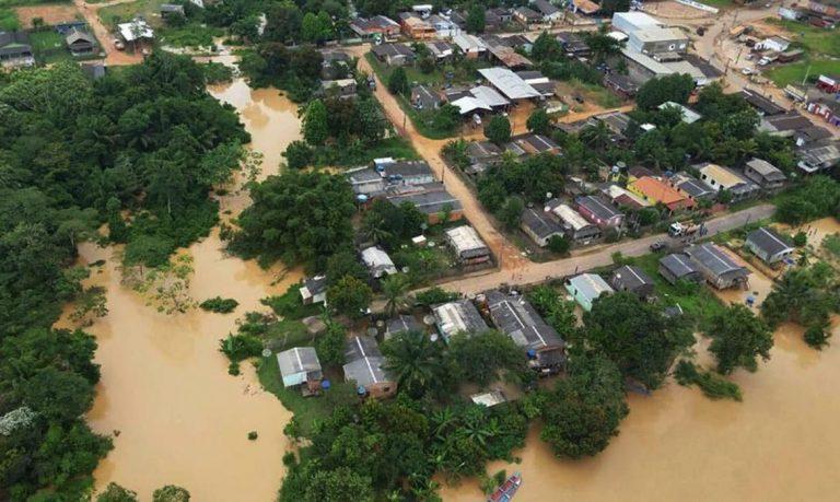 Cidades - catástrofes - enchentes no Acre - chuvas