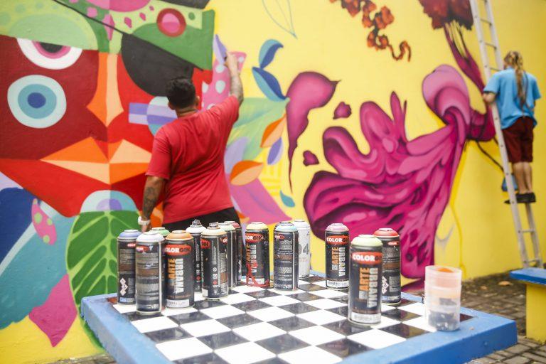 Cultura - artes plásticas - grafite grafitti spray arte urbana grafitagem grafiteiros