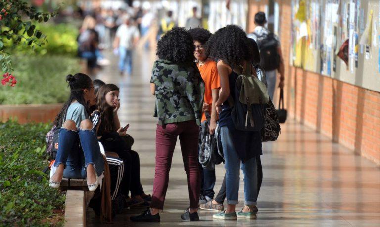 Educação - cotas - universidade - Estudantes negros na UnB