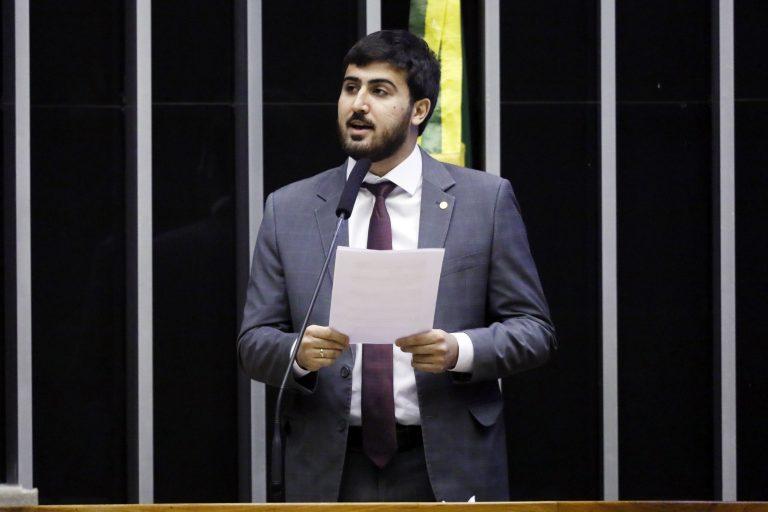 Deputado Emanuel Pinheiro Neto(PTB - MT) em sessão no Plenário da Câmara