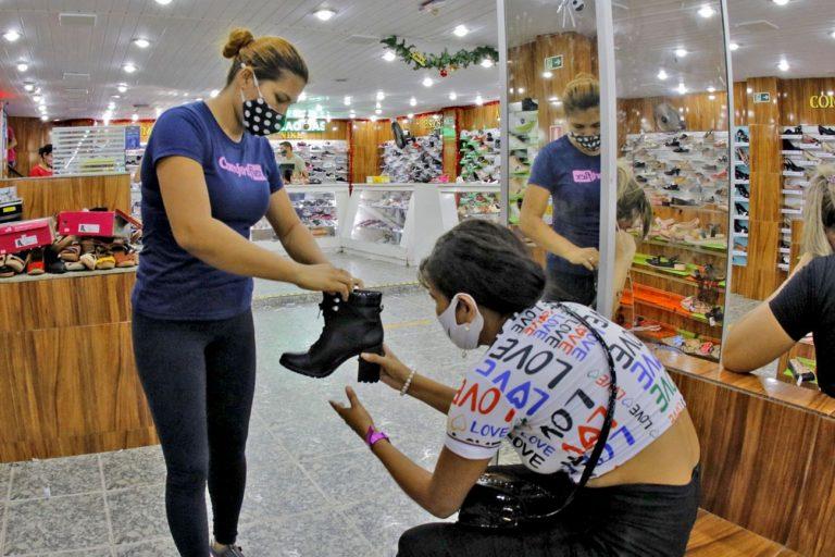 Economia - consumidor - comércio - comerciante - compras - Empregos e Renda Comércio - Belém