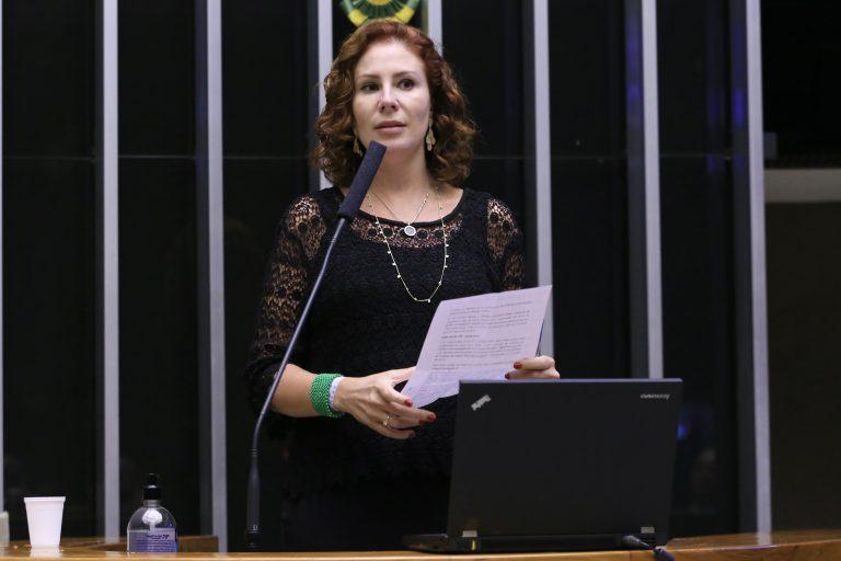 Sessão para a votação de propostas legislativas. Dep. Carla Zambelli(PSL - SP)