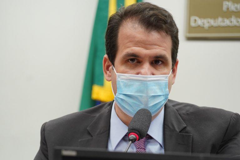 Instalação e Eleição do Presidente e Vice-Presidentes da Comissão. Presidente Eleito, dep. Aureo Ribeiro (SOLIDARIEDADE - RJ)