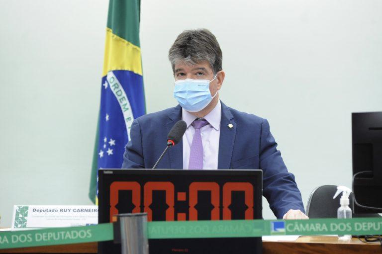 Audiência Pública - Obras e serviços com indícios de irregularidades graves do PLOA 2021. Dep. Ruy Carneiro (PSDB - PB)