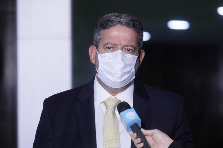 Presidente da Câmara, Arthur Lira (PP - AL), concede entrevista