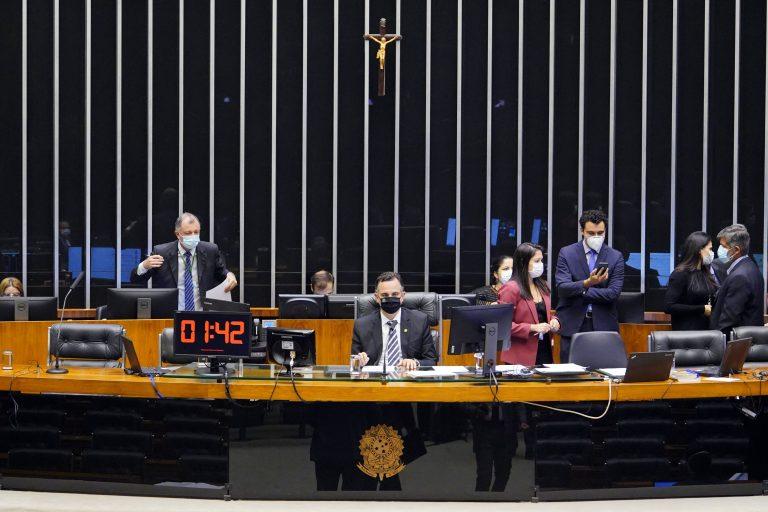Deliberação de Vetos. Presidente do Senado, Rodrigo Pacheco