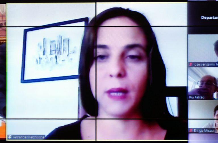 Reunião deliberativa. Dep. Fernanda Melchionna(PSOL - RS)