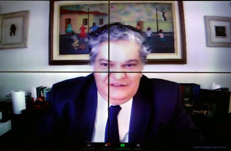 Audiência pública temática: Sistema Eleitoral, Escolha de Candidatos e Registro de Candidaturas. Ex-Ministro do Tribunal Superior Eleitoral, Henrique Neves da Silva