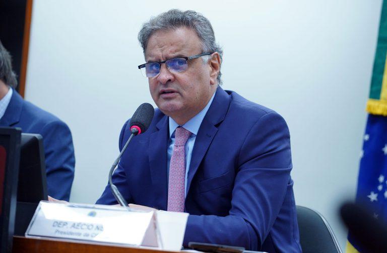 Reunião de Comparecimento de Ministro para explanar sobre as prioridades do MRE para o ano de 2021. Dep. Aécio Neves (PSDB - MG)