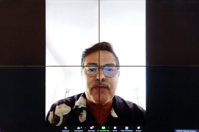 Deputado Eduardo Barbosa (PSDB-MG) participa de reunião virtual