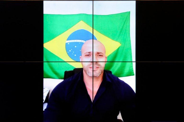 Daniel Silveira depõe no Conselho de Ética