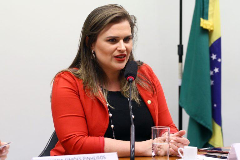 Audiência pública para discutir e avaliar os impactos da proposta de Reforma da Previdência na vida das mulheres. Dep. Marília Arraes (PT-PE)