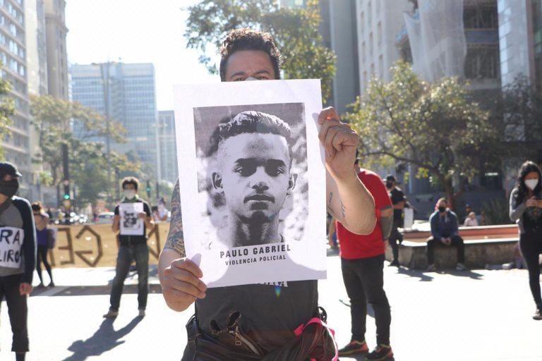Segurança - geral - manifestações protestos violência policial vítimas assassinatos mortes (ato contra o governo Bolsonaro em 5/7/20, avenida Paulista, São Paulo-SP)