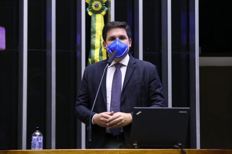 Deputado Hugo Motta (REPUBLICANOS-PB) em sessão do Plenário da Câmara