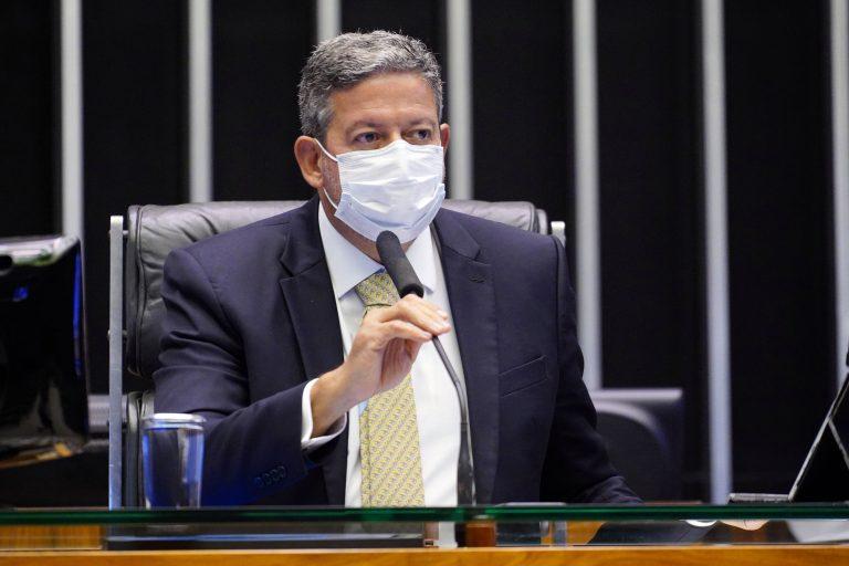 Votação de propostas. Presidente da Câmara, dep. Arthur Lira (PP - AL)