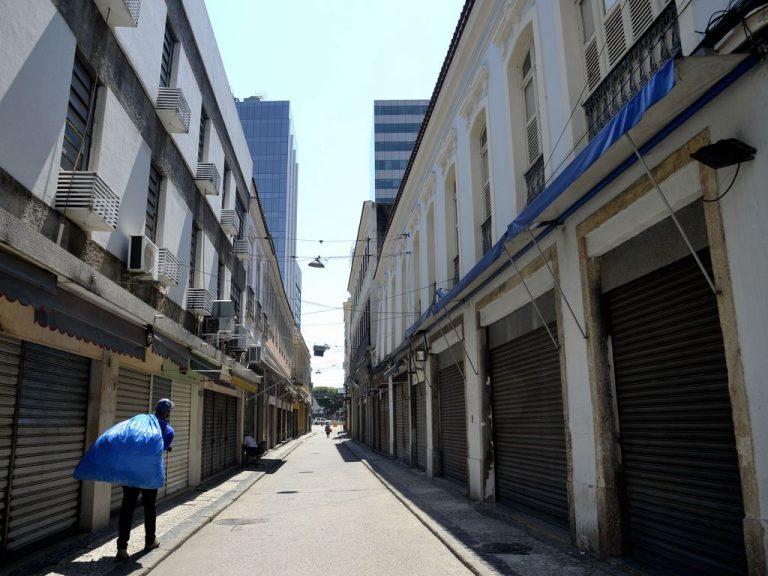 Economia - geral - pandemia - Covid-19 - coronavírus - lojas - comércio fechado - lockdown - Rio inicia hoje(26) feriadão de 10 dias para tentar conter aumento dos casos de Covid-19.