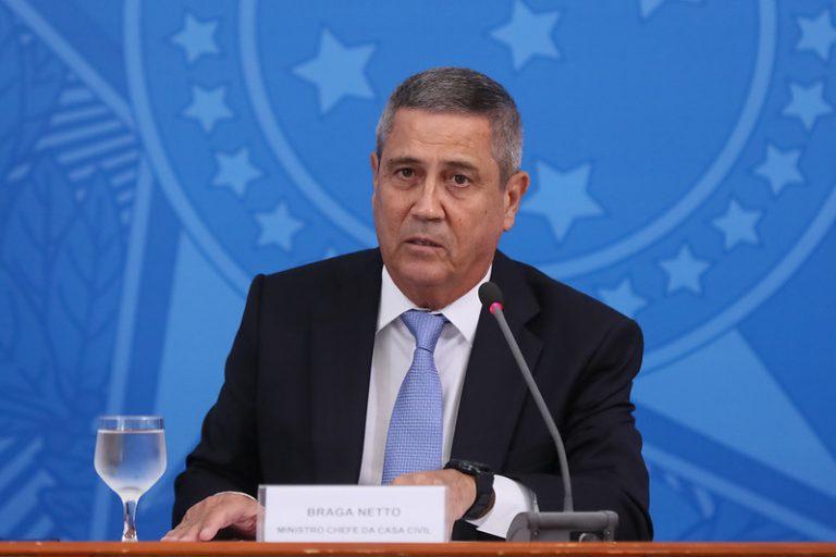 Autoridades - Ministros - Ministro da Defesa - Walter Braga Netto