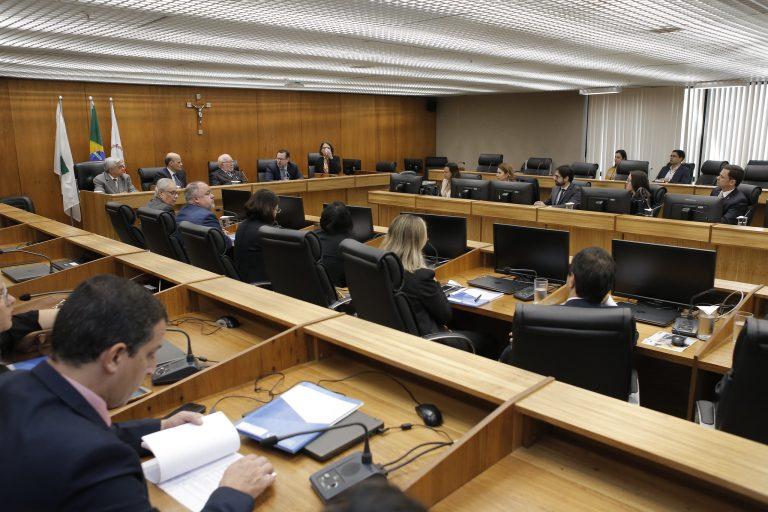 Reunião no Tribunal de Justiça do Distrito Federal