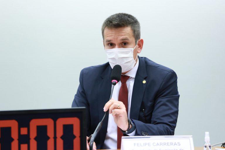 Audiência Pública - O Educador Físico para a Saúde Preventiva e sua Essencialidade. Dep. Felipe Carreras (PSB - PE)