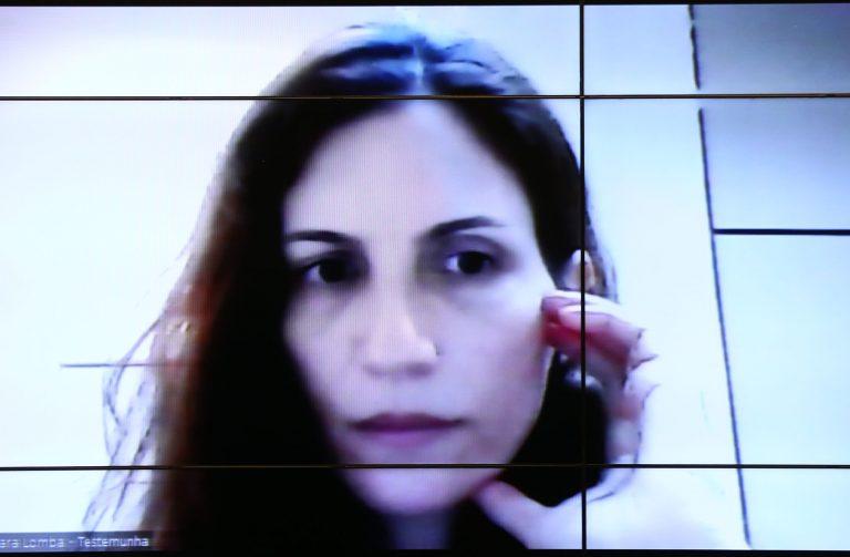 Reunião de oitiva. Testemunha, Del. Bárbara Lomba Bueno