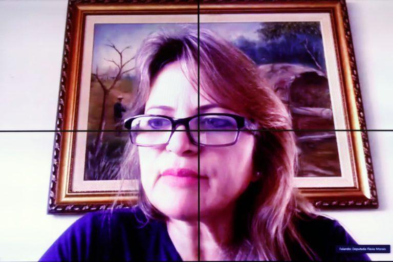 Audiência Pública - Tratamento dos Pacientes com sequelas provocadas pela Covid-19. Dep. Flávia Morais(PDT - GO)
