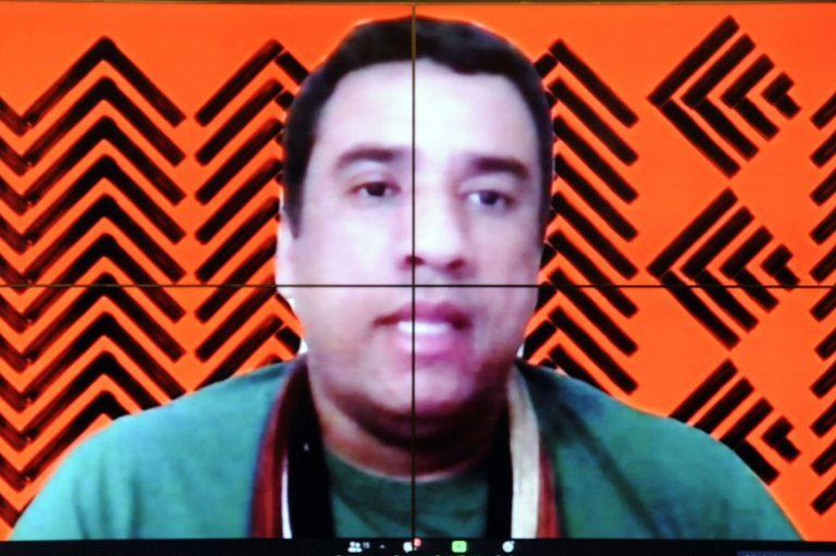 Dinaman Tuxá denunciou omissão do Estado durante a pandemia em relação aos povos indígenas
