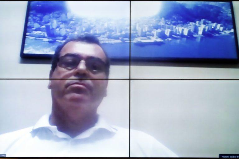 Audiência Pública  Agenda de vacinação de toda a categoria de trabalhadores portuários. Presidente Federação Nacional dos Estivadores, José Adilson Pereira