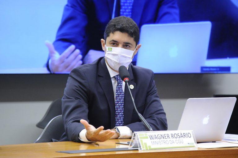 Audiência e Reunião deliberativa. Ministro- chefe da Controladoria-geral da União, Wagner Rosário