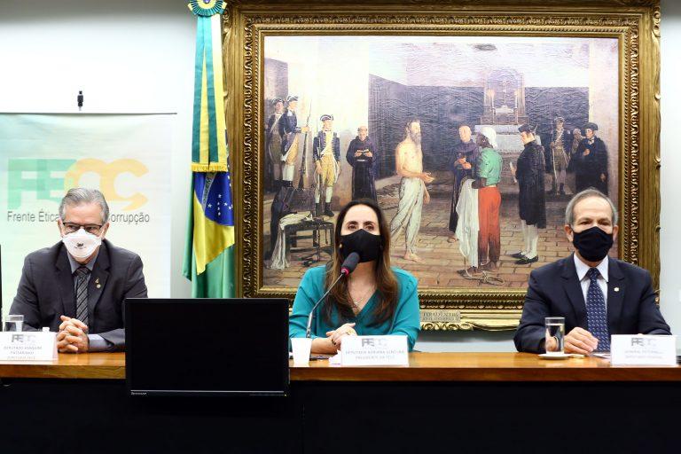 Lava Jato: a maior operação contra corrupção do mundo. Dep. Joaquim Passarinho (PSD - PA), dep. Adriana Ventura (NOVO - SP) e o dep. General Peternelli (PSL - SP)