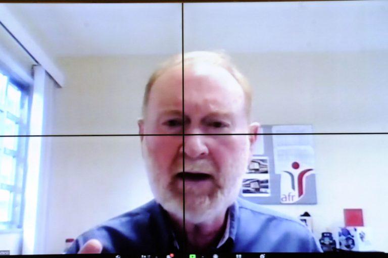 Audiência Pública - Debate sobre a Tabela de Custos dos Procedimentos, Medicamentos e OPM. Superintendente da Associação Fluminense de Reabilitação, representando a Associação das Instituições do Terceiro Setor de Niterói, Telmo Silva Hoelz