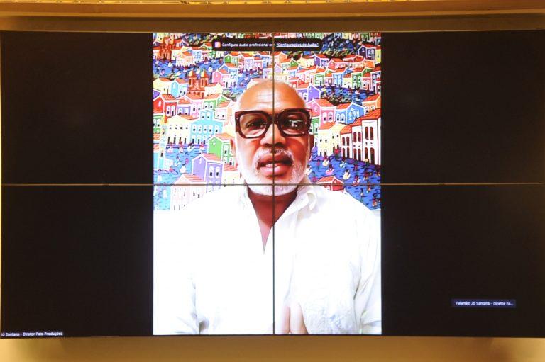 Cultura e Reparação Histórica da População Negra. Diretor Artístico Fato Produções Artísticas, Jô Santana
