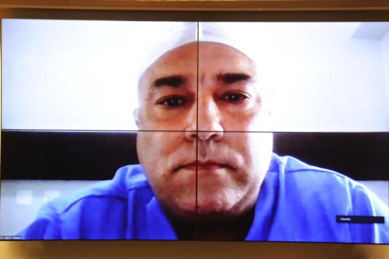 Audiência Pública - O fator obesidade na pandemia da COVID-19. Presidente da Sociedade Brasileira de Cirurgia Bariátrica e Metabólica, Fabio Viegas