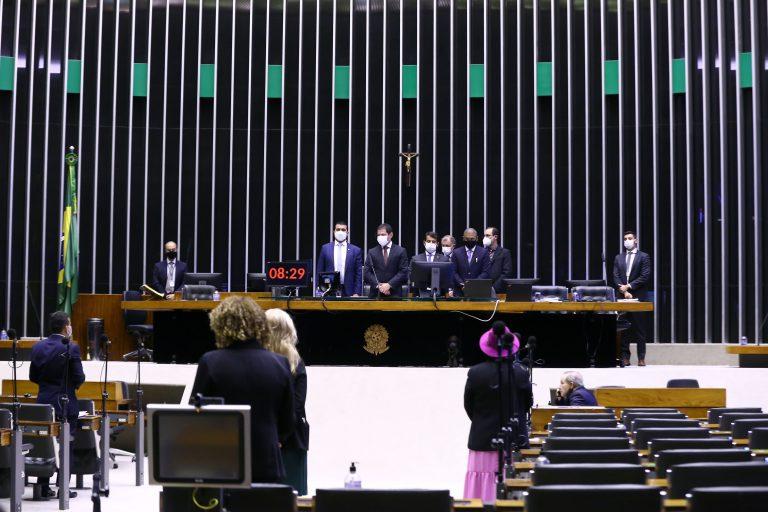 Discussão e votação de propostas. Vice-presidente da Câmara, Marcelo Ramos