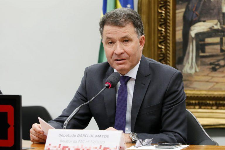 Audiência Pública para debater a admissibilidade da PEC 32/2020. Dep. Darci de Matos(PSD - SC)