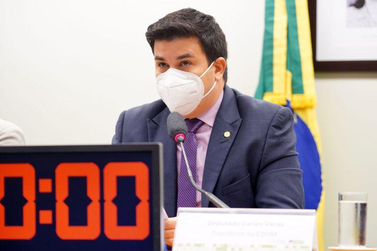 Audiência Pública -Observatório RPU - Empresas e direitos humanos. Dep. Carlos Veras(PT - PE)