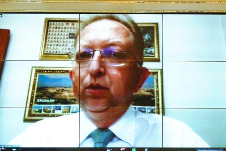 Debates sobre o tema: Sujeitos do Processo e Audiência de Custódia. Dep. João Campos(REPUBLICANOS - GO)