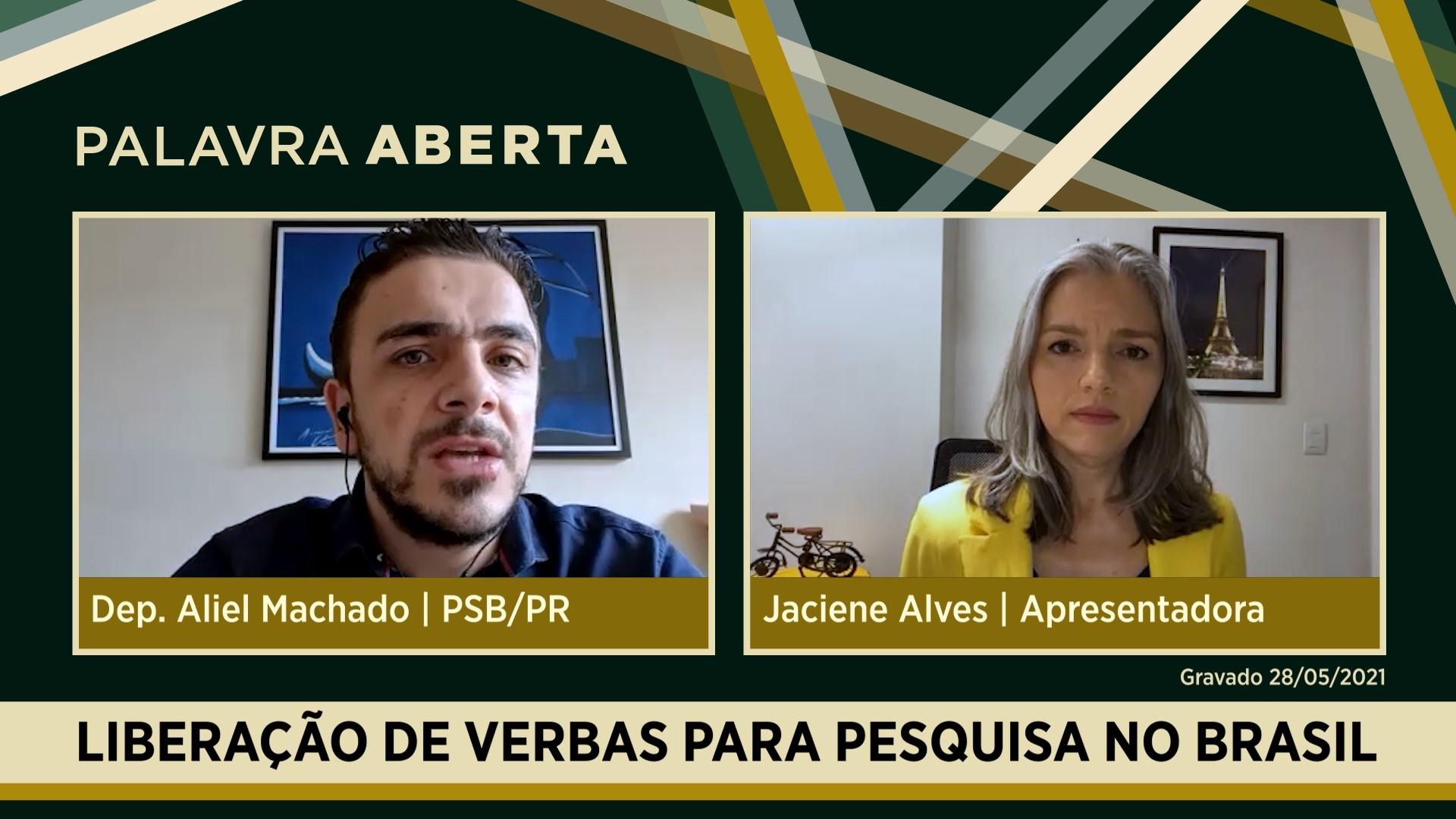 Liberação de verbas para pesquisa no Brasil