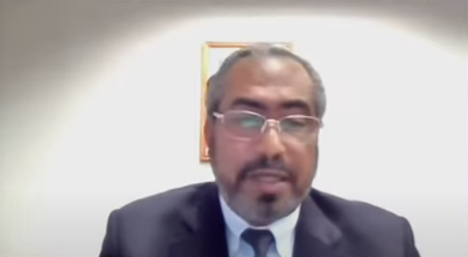Secretário Adjunto da Secretaria Nacional de Políticas de Promoção da Igualdade Racial, Esequiel Roque do Espírito Santo