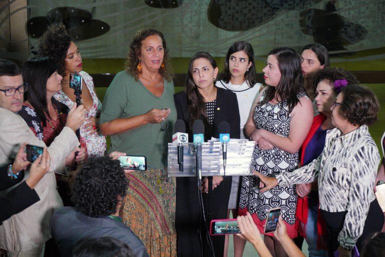 Apresentação de carta de apoio à jornalista. Dep. Jandira Feghali (PCdoB - RJ)