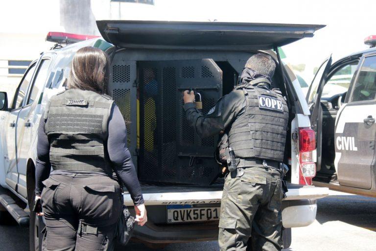 Segurança - presídios - presos condução polícia civil sistema penitenciário penitenciárias prisões policiais (custódia de presos em Belém-PA)