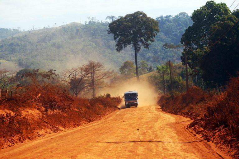 Transporte - estradas e ruas - infraestrutura orçamento rural fazendas vicinais (rodovias rurais de terra em São Félix do Xingu-PA)