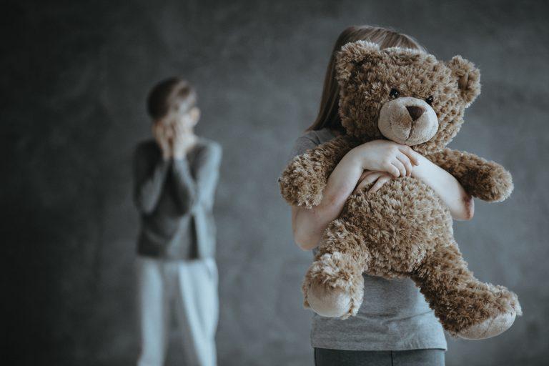 Segurança - violência doméstica - crianças abusadas - violência - estupro - conselho tutelar - Criança segura ursinho