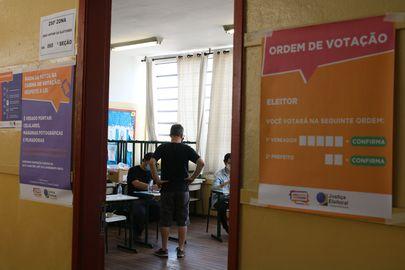Seção de votação