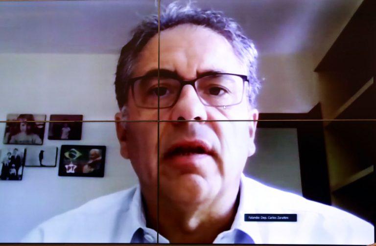 Dep. Carlos Zarattini (PT - SP)