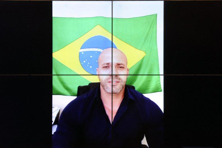 Reunião e Oitiva. Dep. Daniel Silveira(PSL - RJ)